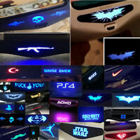Fashion 2pcs Skin For PlayStation 4 PS4 Controller Led Light Bar Decals Sticker