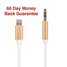 For Apple 3.5mm Jack AUX Audio Music Adapter Cable Car Cord for iPhone 8/8 Plus