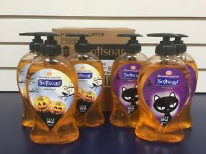 NEW 6 Softsoap Liquid Hand Soaps Halloween Collection 11.25oz - FREE SHIPPING