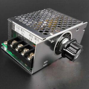 AC 220V 4000W High Power SCR Electronic Regulator Speed Motor!. Controller W0S9