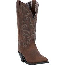 Laredo Women's Access Vintage Tan Snip Toe Cowboy Boot 51078