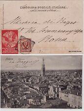 # MODENA: PANORAMA - AL VERSO ERINNOFILO FESTA TOURING CLUB- MILANO 1905