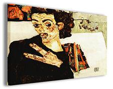 Quadro moderno Egon Schiele vol XI stampa su tela canvas pittori famosi