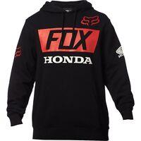 Felpa Fox Honda HRC Basic Pullover Nero Black Hoodie Team Gariboldi Gajser
