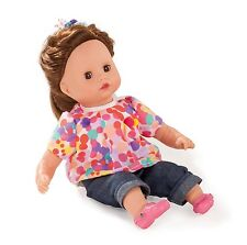 GOTZ 2015 Muffin Brunette Vinyl/Soft Bodied 33cm Girl Doll New 1520909