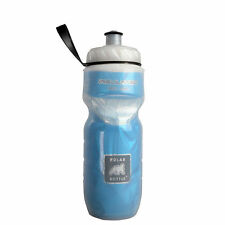 POLAR Bottle Bike Bicycle Cycling Insulated Water Bottle Keep Cold 590ml Blue
