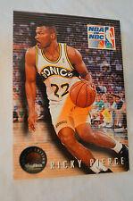 NBA CARD - Sky Box - NBA on NBC Series - Ricky Pierce - Supersonics vs Rockets.