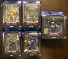 MOTU Revelations He-man, Skeletor, SkeleGod, Moss Man, Evil-Lyn Netflix Lot New