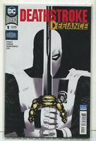 Deathstroke-Defiance #1 NM ANNUAL DC Comics CBX5A