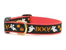 Up Country - Dog Design Collar - Made In USA - Boo Halloween - XS S M L XL XXL