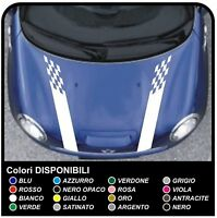 MINI COOPER kit strisce adesive PER COFANO punta racing adesivi mini cooper