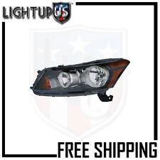 Headlights Headlamps Left Only for 08-12 Honda Accord Sedan