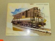 K-LINE BY LIONEL 2009 VOLUME I CATALOG- NEW- W13
