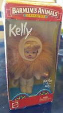 Mattel Barbie Circus Lion Kayla Kelly Doll Barnum Animals Crackers