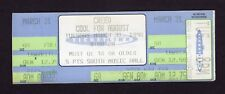 Original 1998 Creed unused full concert ticket Birmingham Al My Own Prison