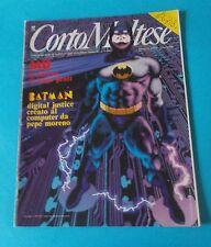 CORTO MALTESE nr. 1 del 1991 (Cover BATMAN)