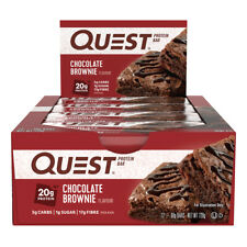 12 X Quest Protein Bars Chocolate Brownie 60g