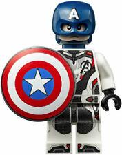 NEW LEGO MARVEL SUPER HEROES AVENGERS ENDGAME MINIFIGURE CAPTAIN AMERICA 76123