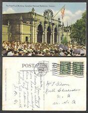 1936 Canada Postcard - Toronto, Ontario - Exhibition - Pure Food Building