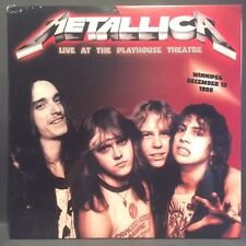 Metallica - Live at the Playhouse  - NEW SEALED import 2 LP live set 1985