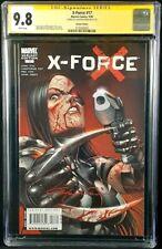 X-FORCE #17 CGC SS 9.8 CLAYTON CRAIN BLOODY VARIANT DEADPOOL WOLVERINE XMEN X-23