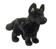 "Harko 8"" Black German Shepherd Plush Stuffed Animal Dog Douglas Cuddle Toy pup"