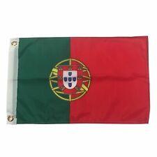 """12x18 Portugal Flag 12"""" x 18"""" Car Boat Flag Banner grommets super polyester"""
