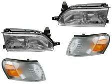 1993 - 1997 TOYOTA COROLLA HEADLIGHT HEAD & CORNER LAMP LIGHT LAMP LEFT & RIGHT