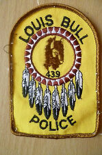 Patches: LOUIS BULL 439 CANADA POLICE PATCH (NEW* apx.10x7 cm)