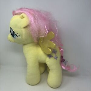 Build A Bear MLP My Little Pony Yellow FLUTTERSHY Plush Stuffed Animal 15""
