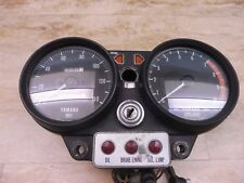 1973-74 Yamaha TX750 Twin Gauges Speedometer Tachometer w/ Ignition PL128 +