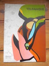 HERVE TELEMAQUE. catalogue d'exposition. galerie Maeght. Paris 1979