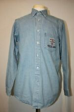 Texas A&M Aggies Long Sleeve Denim Chambray Shirt by Red Oak Sz M