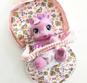 My Little Pony Skywishes Play And Carry Talking Pony and Convertible Backpack
