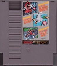 SUPER MARIO BROS DUCK HUNT WORLD CLASS TRACK MEET NINTENDO GAME ORIGINAL NES HQ