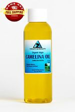 CAMELINA OIL UNREFINED ORGANIC VIRGIN COLD PRESSED RAW PREMIUM FRESH PURE 2 OZ