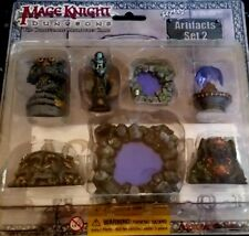 MAGE KNIGHT Dungeons Artifacts Set 2 Collectable Miniatures Game Wizkids