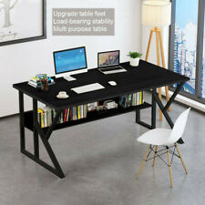 Home Wood Computer Desk PC Laptop Table Study Workstation Office Furniture USA