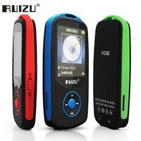 "RUIZU X06 MP3 Player Bluetooth 8GB TFT 1.8""LCD Screen Lossless Voice Recorder FM"
