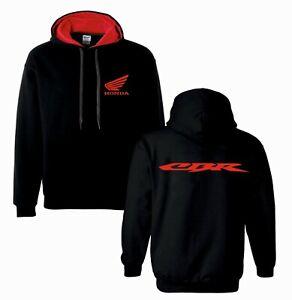 Honda cbr inspired motorbike motorcycle tribute hoodie top size s - xxl