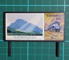 Advertising Hoarding (Snowdonia and Coronation Scot)
