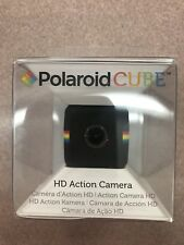 Polaroid POLC3 Cube HD Digital Video Action Camera Camcorder (Black) NEW sealed.