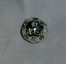 Brand New Chamilia Retired Disco Ball Green  Swarovski