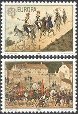Yugoslavia 1981 Europa/Horses/Animals/Wedding/Art/Artist/Transport 2v set n21706