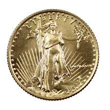 Pièce Or 5 Dollars Etats-Unis 1/10 d'once American Gold Eagle Année 1986