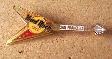 Hard Rock Cafe HRC San Francisco Guitar brooch pin back SF