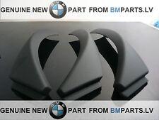 NEW OEM BMW 3 E90 E91 E92 LCI INTERIOR HANDLE PULL CLASP TRIM BLACK ALL SET RHD