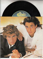"WHAM!  Freedom PICTURE SLEEVE 7"" 45 rpm vinyl record + juke box title strip"