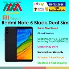 BRAND NEW SEALED FACTORY UNLOCKED XIAOMI REDMI NOTE 5 64GB BLACK DUAL SIM GLOBAL