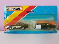 Matchbox 1-75 Twin Pack TP 102 MB9 Ford Escort RS2000 And Glider, Rare Dark gree